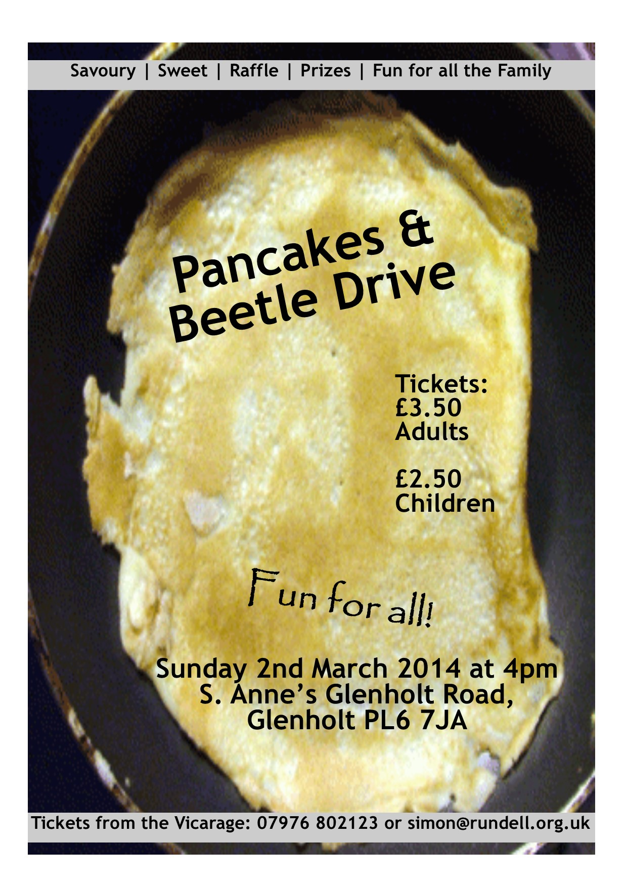Pancakes and Beetle Drive 2014