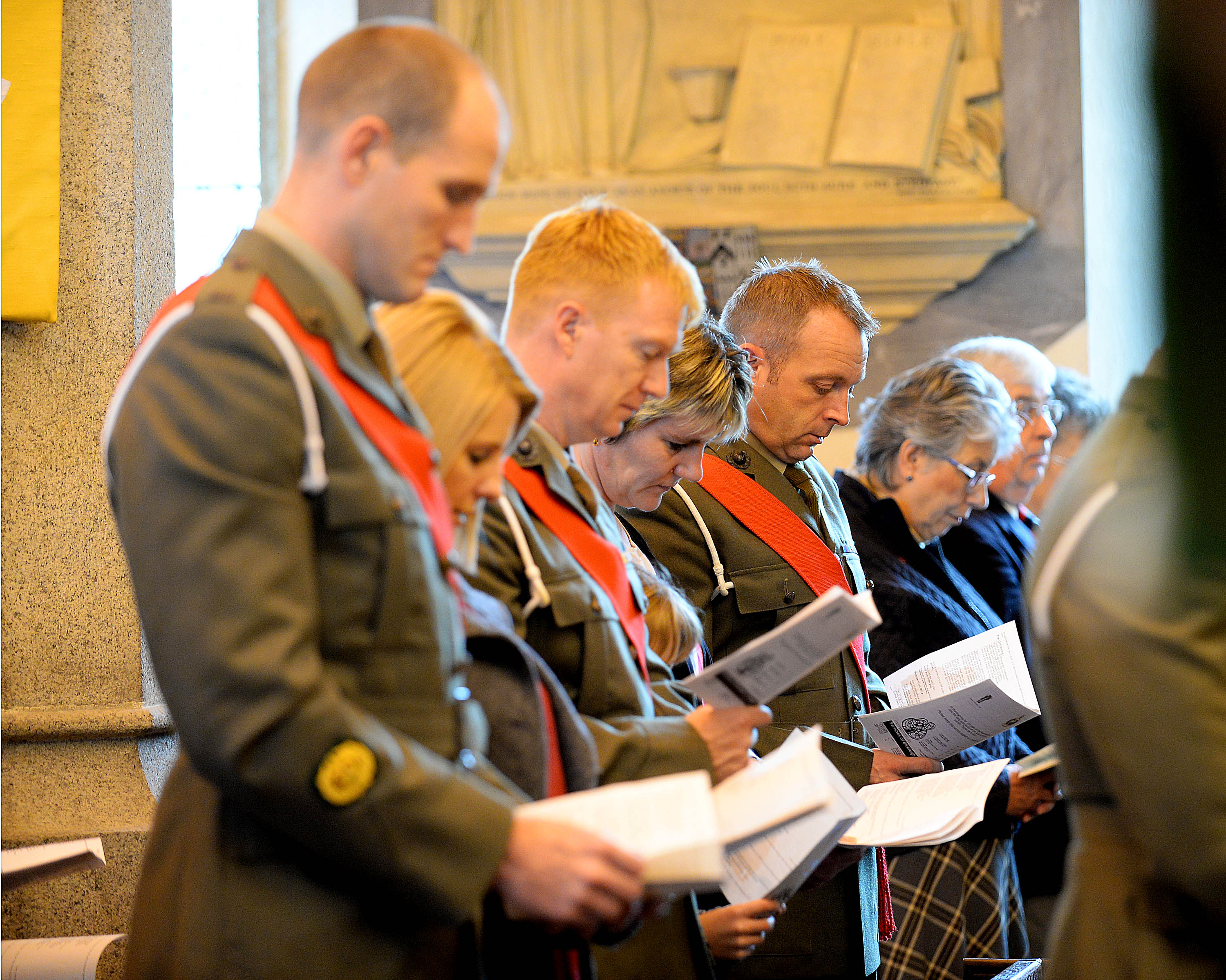 42 Commando Rededication of RM Chapel St.Mary's