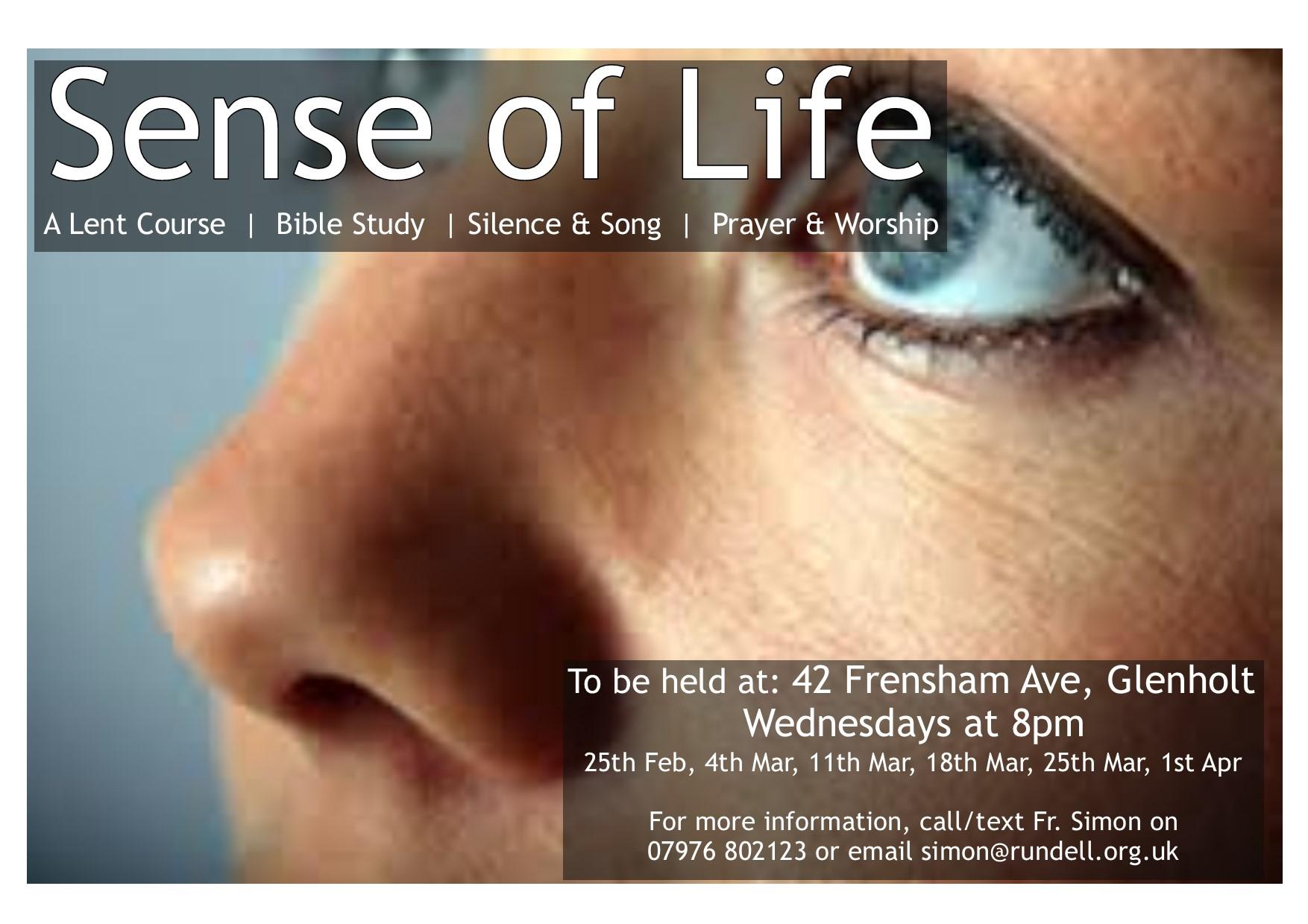 Sense of Life Poster