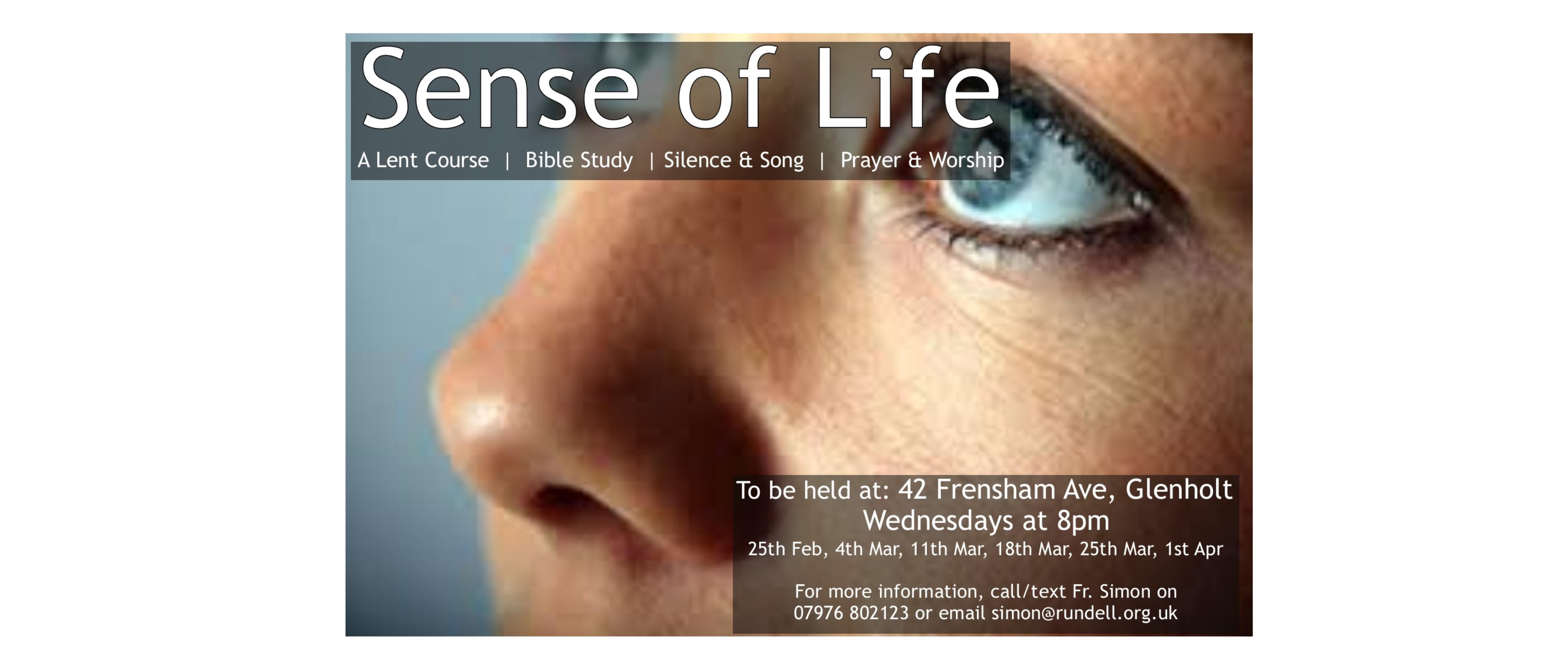 Sense of Life Webpage